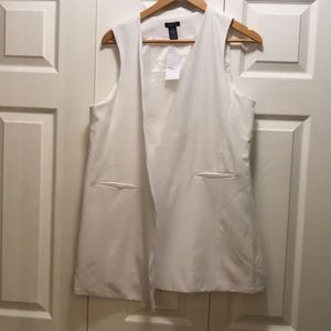 Rue 21 vest white